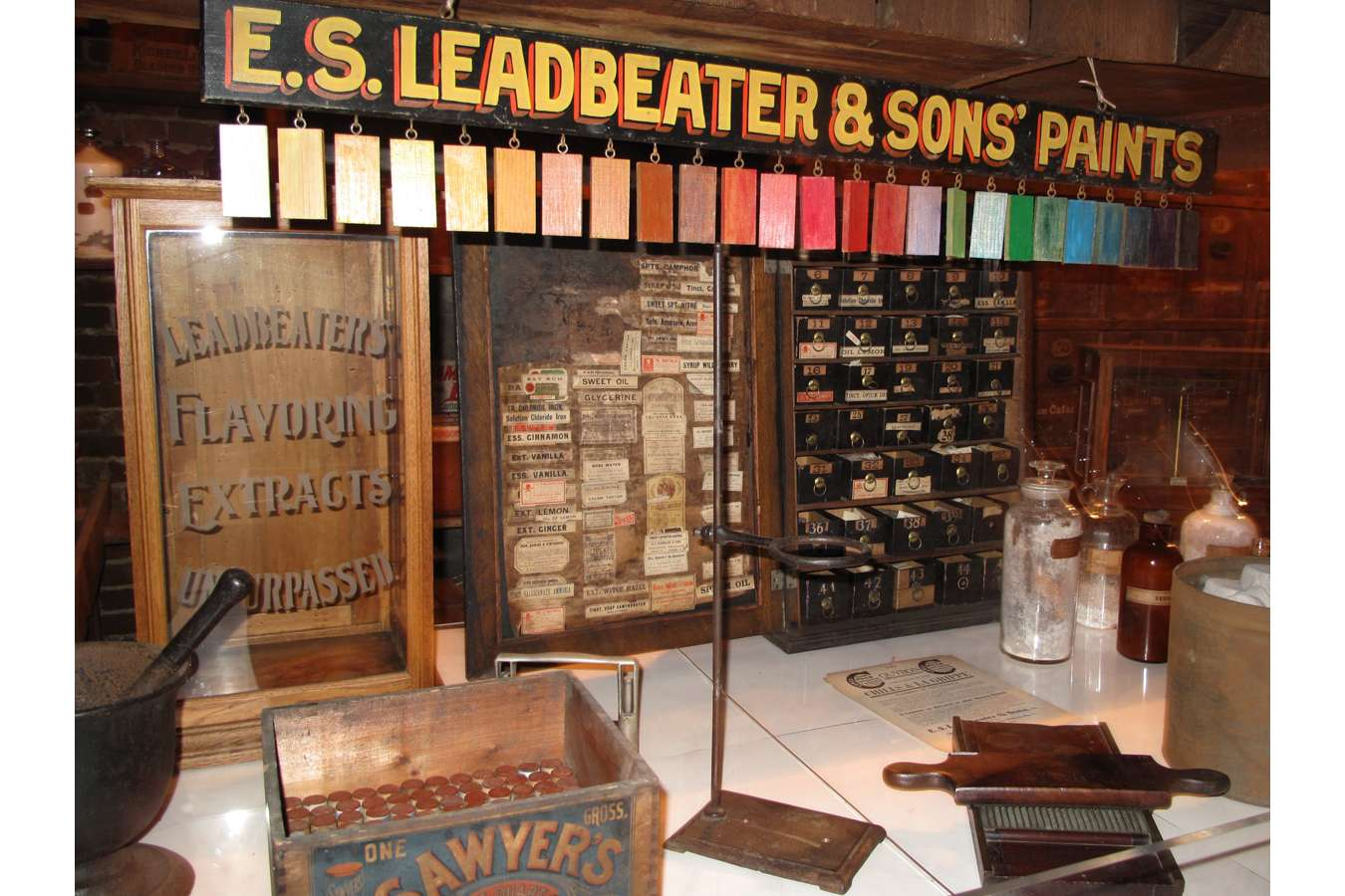 Apoth 0972 PREV : The Apothecary Museum is a time capsule of medical and business history in Alexandria