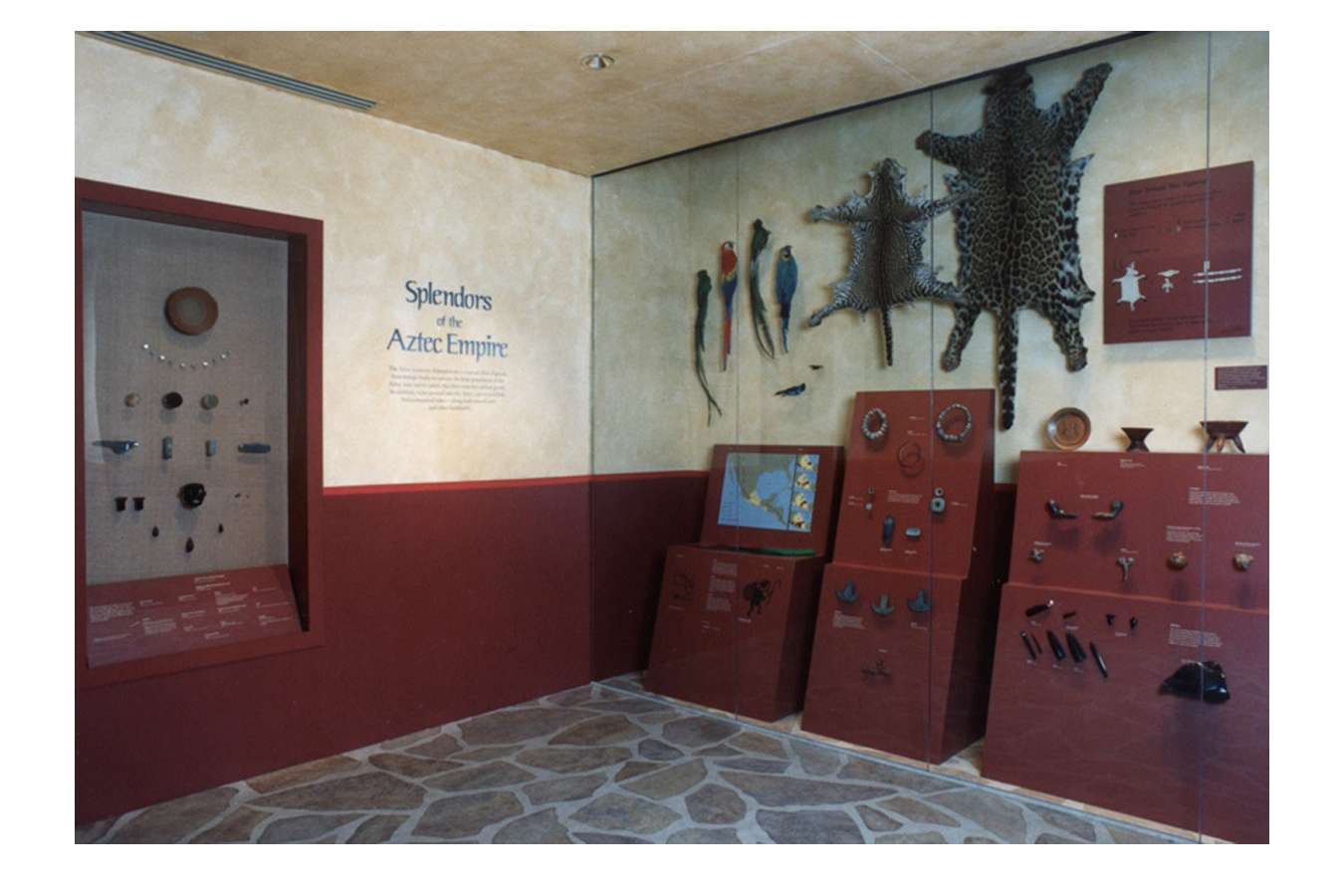 Seeds Aztec Trade : The exhibit begins with pre-columbian culture in the Americas