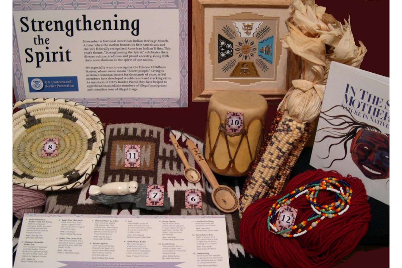 "USCBP 4 NA 2 : Native Handicrafts from the ""The Indian Craft Shop"" at the Department of the Interior"