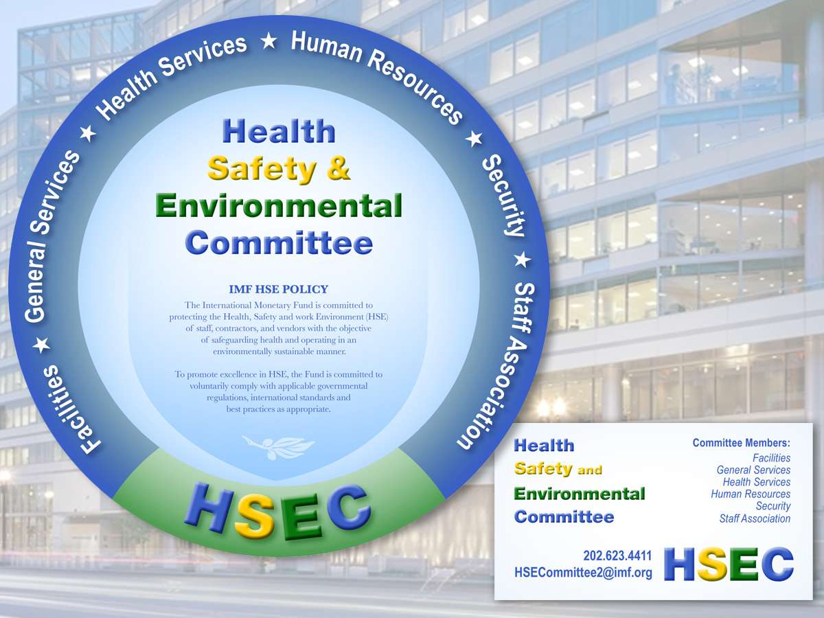IMF HSEC PFlio : Health Safety and Environmental Committee Identity and Business Card