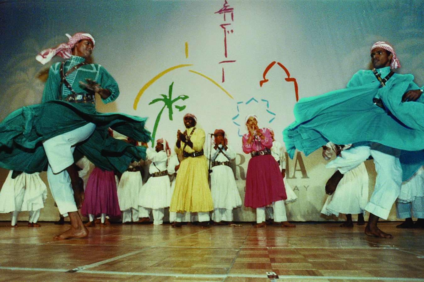 Ksa Dance : MAIN STAGE: Bedouin Dancers – 24-Man Troupe Performed 4 times Daily