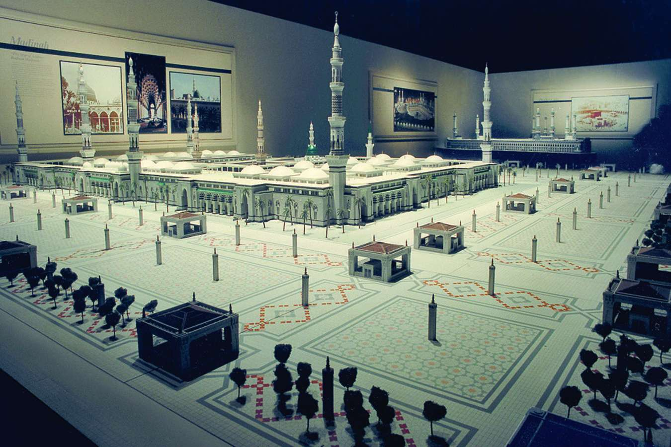 ksa medina : ISLAM: Model of the Mosque at Medina – Over 140 Architectural Models in Exhibit