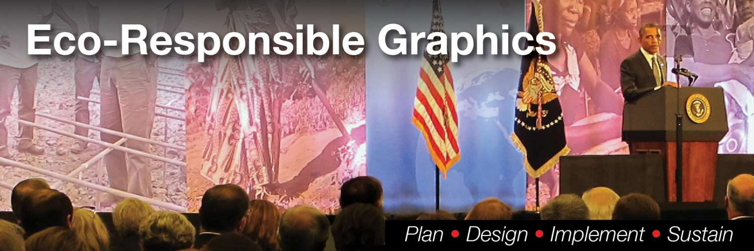 5x15 slide titles 0 PDIS4 OBM : The Chicago Council on Global Affairs – Stage Backdrop on Recycled Fabric | Sustain